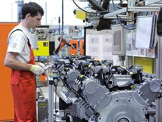 Nagyot ugrott a győri Audi gyártási eredménye