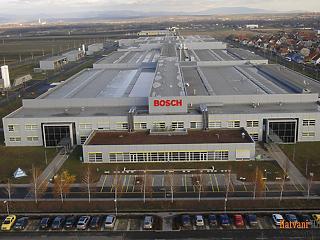 9,6 milliárd forintból fejlesztenek a Bosch hatvani gyárában