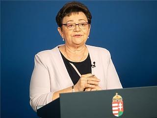 Most Müller Cecília is elmondhatja, mekkorát javult a koronavírus-helyzet itthon