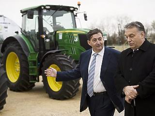 Tovább hízik Mészáros Lőrinc agrárbirodalma