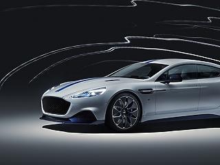 Aston Martin szalon nyílik az M3-as autópálya mellett