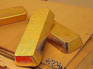 Hatéves csúcson az arany árfolyama