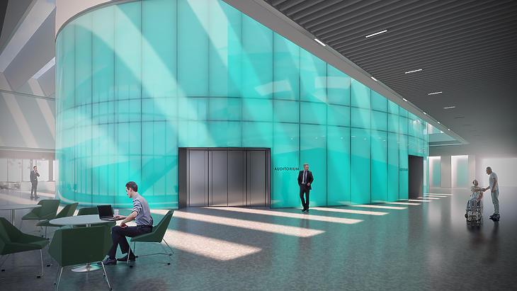 A lobby (forrás: DBC Zrt.)
