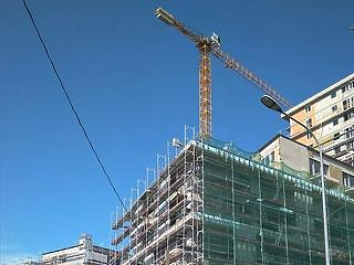 Közel két év után először csökkent az építőipari termelés januárban