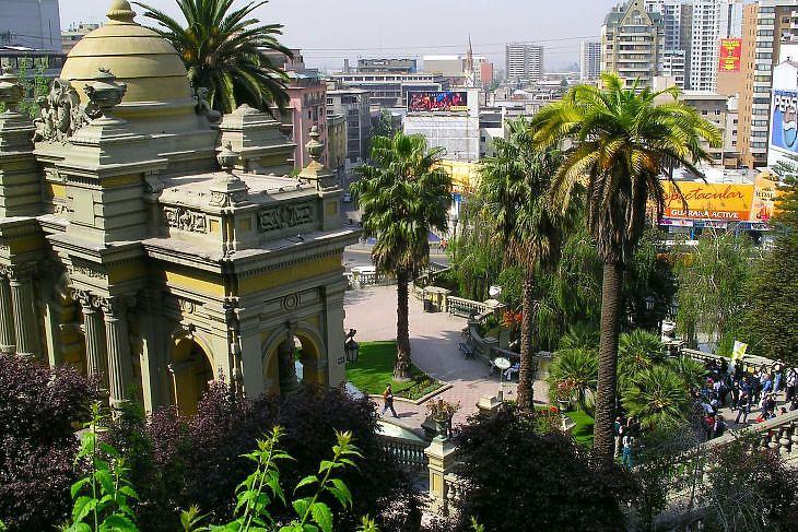 Santiago de Chile (Forrás: Depositphotos)