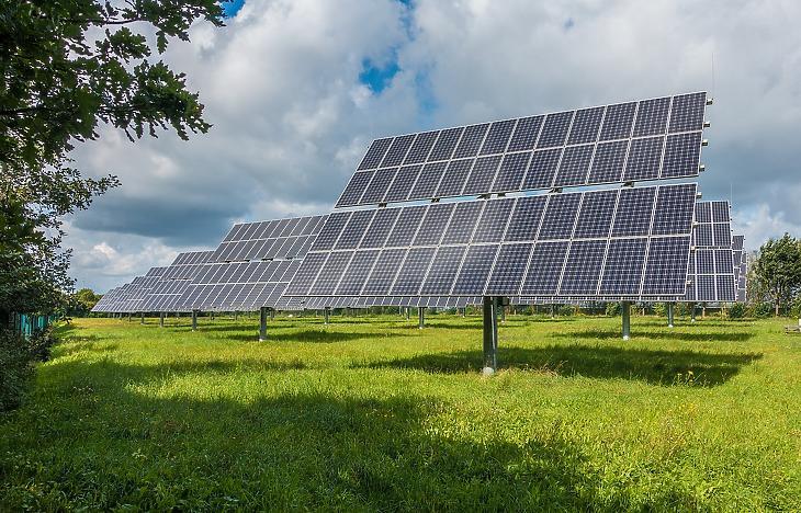 A jövő nagy üzlete lehet a napelempark Fotó: Pixabay