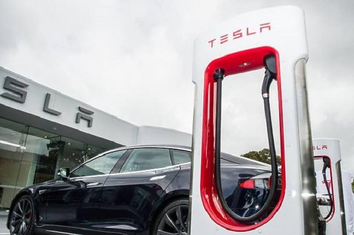 A Tesla lehet a pandémia egyik nyertese. (Fotó: MTI)