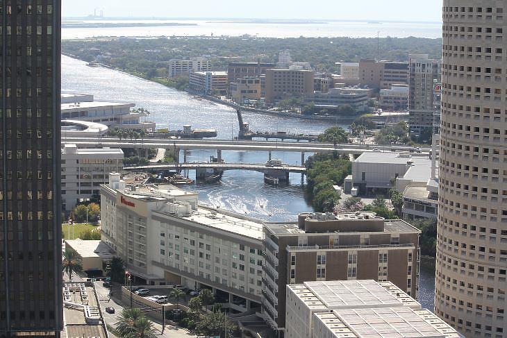 A floridai Tampában még lehet keresnivalója, akár a kikötői infrastruktúrában is (fotó: Mester Nándor)