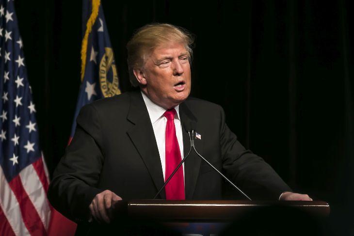 Donald Trump amerikai elnök ( Forrás: Depositphotos)