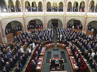 Megkezdődött az Országgyűlés alakuló ülése