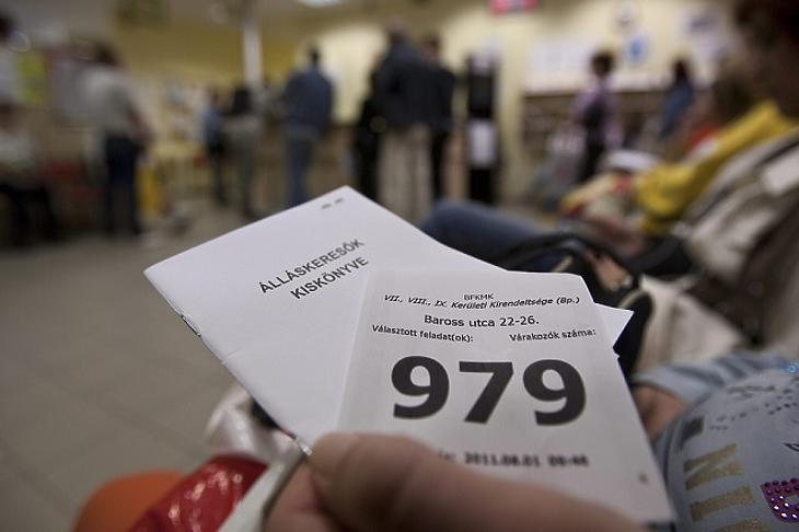 Hirtelen megugorhat a munkanélküliek száma (MTI fotó)