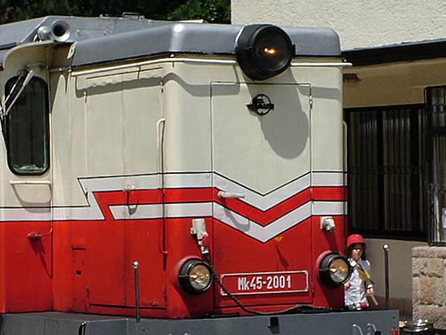 A gyermekvasút mozdonya 2.