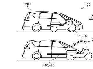 Valósággá válhat a Batmobile: kivehető motorbiciklivel felszerelt kocsit tevez a Ford