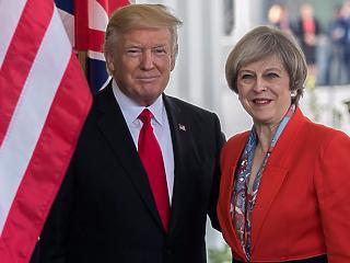 Theresa May szabadkereskedelmi megállapodást akar az USA-val