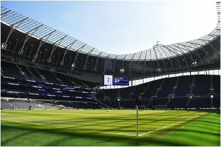 A Tottenham 2019-ben átadott stadionja. A beruházásra felvett 637 milliós hitelt a klub önerőből fizeti vissza