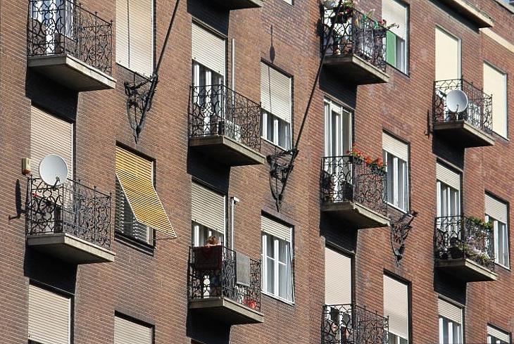 A kisebb lakások fajlagosan mindig drágábbak a nagyobbaknál (fotó: Mester Nándor)