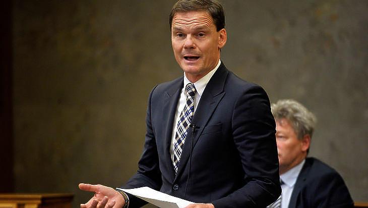 Bánki Erik, a gazdasági bizottság elnöke