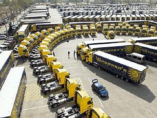 19 milliárd forintból vesz kamionokat a Waberer's