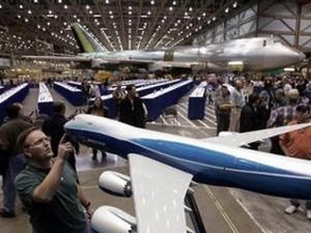 Boeing üzem az amerikai Everett városában
