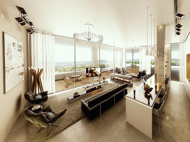 Marina Bay Residence 2: Luxus a Duna-parton
