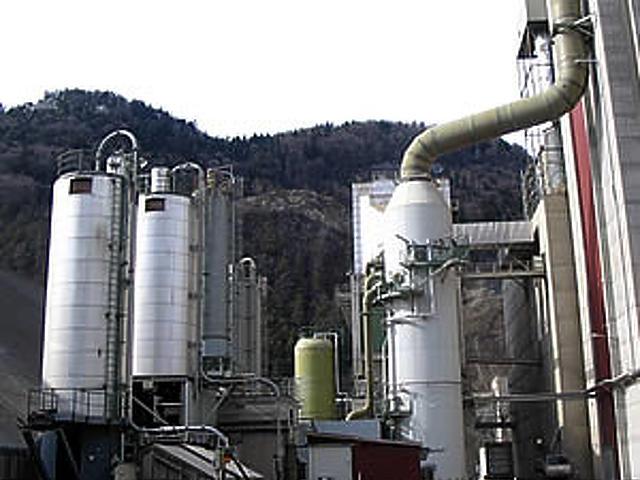 Holcim-gyár a svájci Untervazban 1.