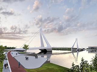 Csodás új hidat kap Budapest
