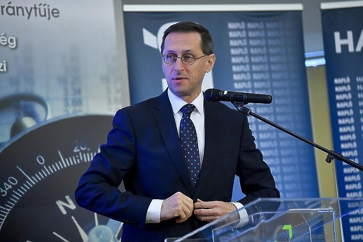 Varga Mihály pénzügyminiszter (Fotó: MTI/Czeglédi Zsolt)