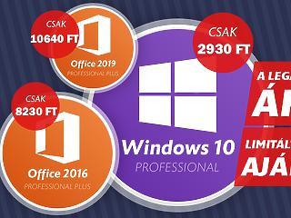Vásárolj Windows 10-et mindössze 3000 forintért a Keysoff.com Őszi vásárán