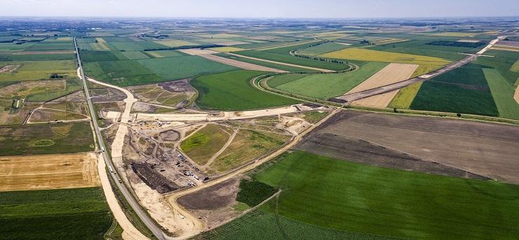 Az építkezés már tavaly megkezdődött az M4 keleti szakaszán