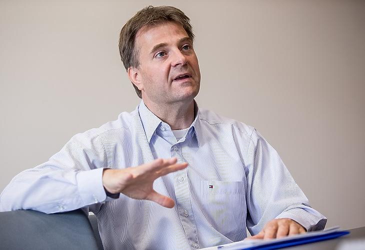 Kravalik Gábor, az ÖPOSZ elnöke