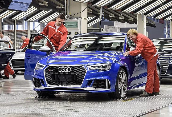 Jól teljesített tavaly az Audi, sok pénzt vitt haza az anyacég (Fotó: Audi Hungaria)