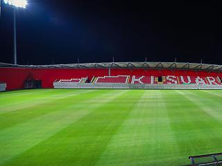 3 éve adták át, de 112 millióért már cserélik a kisvárdai stadion gyepét