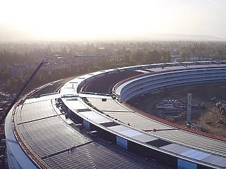 Lenyűgöző drónvideón az Apple majdnem kész, új kampusza
