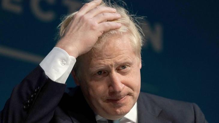 Boris Johnson (Forrás: Sky News)