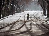 Négy megyében továbbra is harmadfokú a figyelmeztetés a hóvihar miatt
