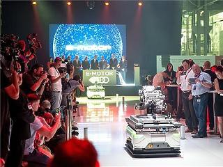 Itt az első győri elektromos Audi-motor (fotó)