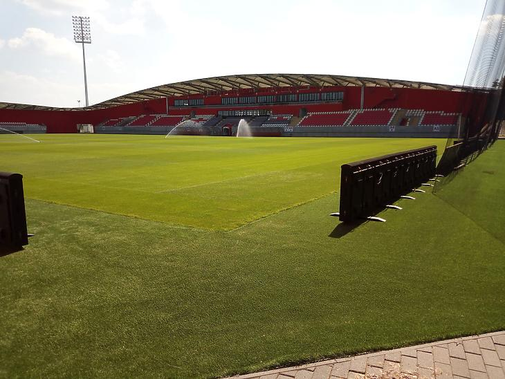 Kisvárdai stadion (Fotó: Székely Sarolta, mfor.hu)