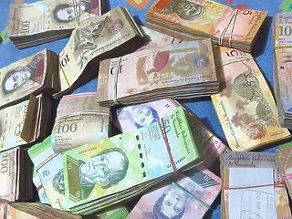 10 millió százalékos infláció jöhet Venezuelában jövőre