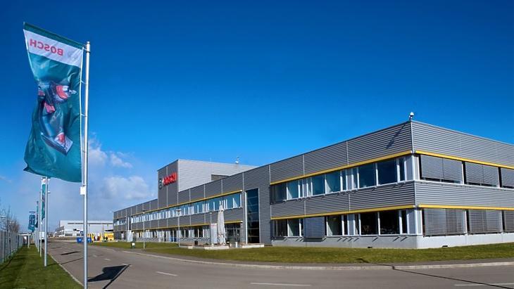 A Bosch miskolci gyárában kísérleti tesztelés folyik. Fotó: bosch.hu