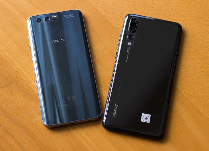 Huawei és Honor - fotó: Izsó Márton