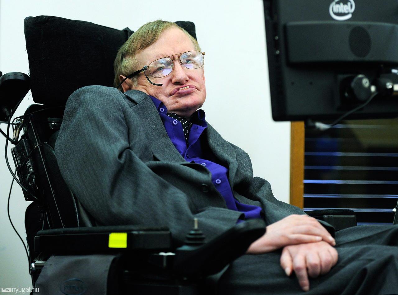 Stephen Hawking  (fotó: MTI/EPA)
