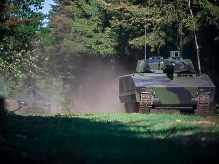 Zalaegerszegen gyártják majd a Lynx tankokat