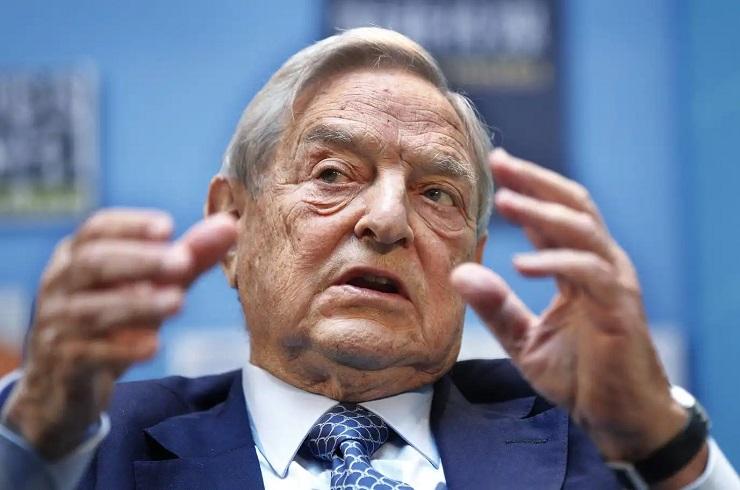 A filantróp milliárdos, Soros György