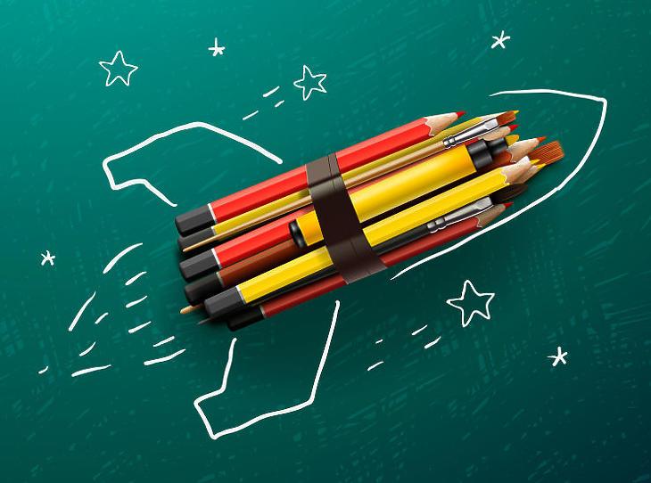 Van aki célbaér, de sokak számára nehézséggel járt a digitális tanrend (Illusztráció - Fotó: depositphotos.com)