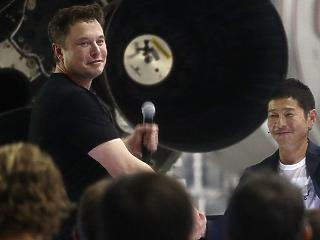 Japán milliárdos lesz a SpaceX első űrturistája