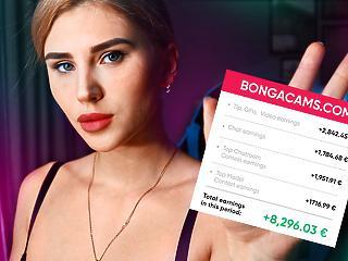 Mennyit lehet szerezni webkamerázással: egy budapesti lány megosztott pár valós adatot a BongaCam-os bevételeiről