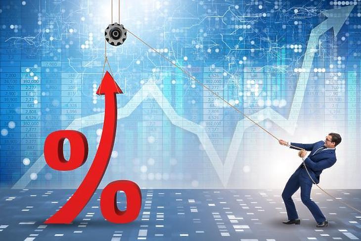 A csütörtöki inflációs adat nagyban befolyásolja a következő kamatemelés mértékét. Fotó: depositphotosos