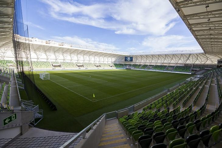 A Haladás 15 milliárdból épült stadionja (Fotó: MTI)