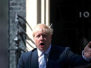 Boris Johnson első miniszterelnöki beszédében Theresa Mayt bírálta