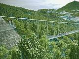 78 millióért tervezik meg a világrekorder függőhidat Sátoraljaújhelynek